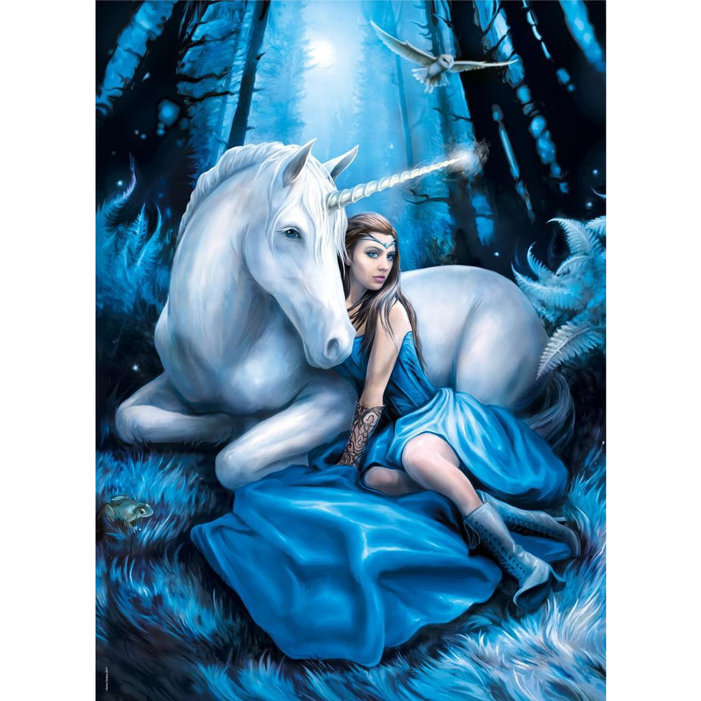 "Anne Stokes, Blue Moon - 1000 pieces, Puzzle, Brand_Clementoni, Category_Puzzle, Collection_Anne Stokes, Pieces_1000, Theme_Fantasy, ""board games"", ""Hobby Games"", Hobby Games"