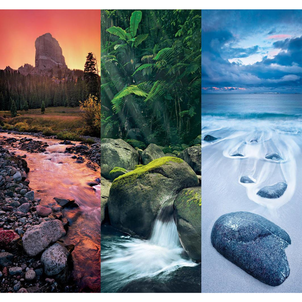"Trittico, Nature - 3x500 pieces, Puzzle, Brand_Clementoni, Category_Puzzle, Collection_Trittico, Pieces_500, Theme_Landscape, ""board games"", ""Hobby Games"", Hobby Games"