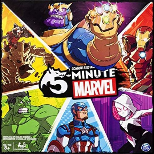 "5 Minute Marvel, Board Game, Age_8-10 years, Category_Family, Mechanic_Cooperative, Mechanic_Hand Management, Mechanic_Real Time, Mechanic_Variable Player Powers, ""board games"", ""Hobby Games"", Hobby Games"