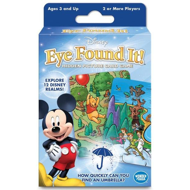 "Disney Eye Found It!, Card Game, Age_Preschool, Category_Childrens, Disney, Mechanic_Pattern Recognition, Wonder Forge, ""board games"", ""Hobby Games"", Hobby Games"