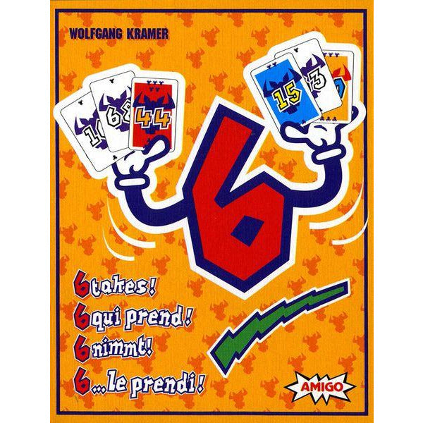 "6 Takes, Card Game, Age_8-10 years, Mechanic_Hand Management, ""board games"", ""Hobby Games"", Hobby Games"