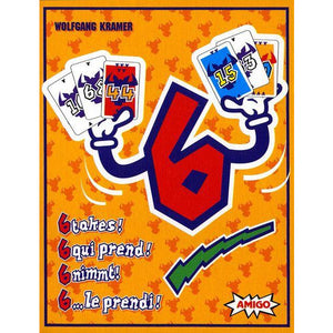 "6 Takes, Card Game, Age_10+, Age_8+, Age_9+, Age_Adult, Age_Teen, Mechanic_Hand Management, ""board games"", ""Hobby Games"""