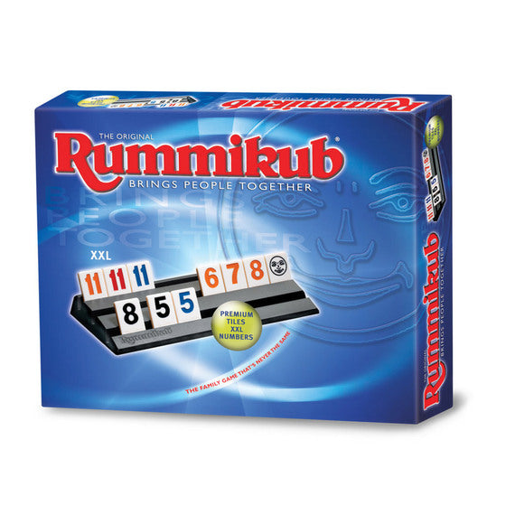 "Rummikub - XXL, Board Game, Age_8-10 years, Category_Abstract, Category_Family, Ephraim Hertzano, Mechanic_Set Collection, Rummikub, ""board games"", ""Hobby Games"", Hobby Games"