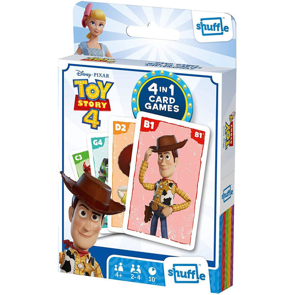 Shuffle - 4 in 1 Toy Story 4 Card Game