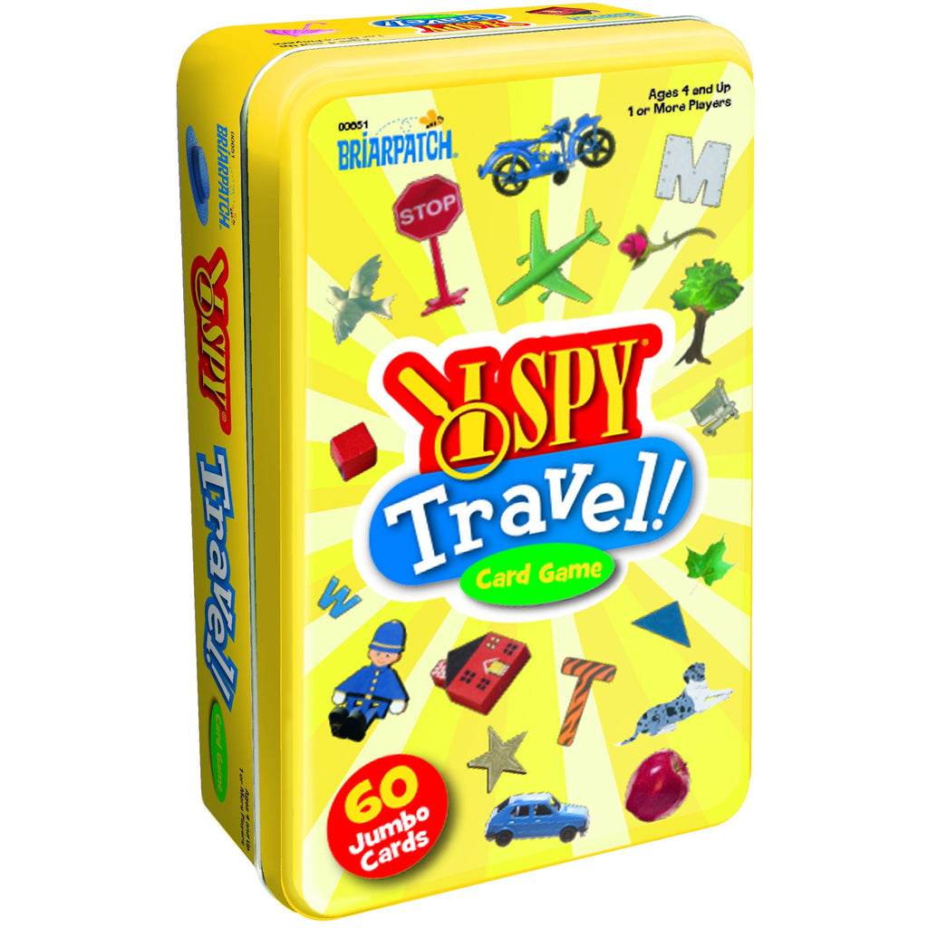 "I Spy, Travel Card Game Tin, Card Game, Age_5-7 years, I Spy, Mechanic_Matching, Mechanic_Pattern Recognition, ""board games"", ""Hobby Games"", Hobby Games"