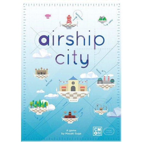 "Airship City, Board Game, Age_Teens, Category_Strategy, CMON, Masaki Suga, Mechanic_Set Collection, Mechanic_Worker Placement, Saori Shibata, ""board games"", ""Hobby Games"", Hobby Games"