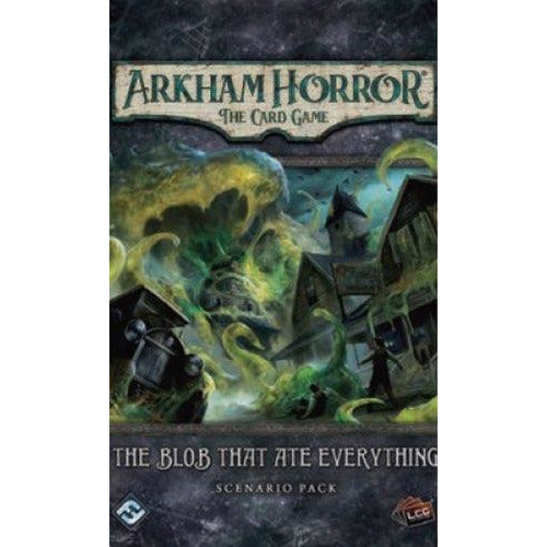"Arkham Horror: The Blob that ate Everything, Card Game, Age_Teens, Arkham Horror, Category_2 Player, Category_Expansion, Category_Solo, Category_Thematic, Fantasy Flight, Mechanic_Cooperative, Mechanic_Deck Building, Mechanic_Hand Management, Mechanic_Pool Building, Mechanic_Variable Player Powers, Mythos Pack, Role Playing Game, ""board games"", ""Hobby Games"", Hobby Games"