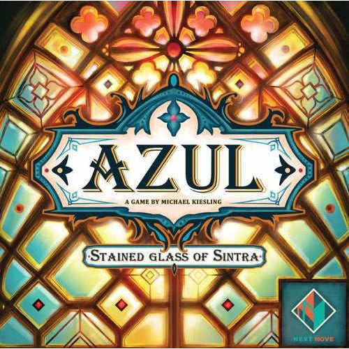 "Azul: Stained Glass of Sintra, Board Game, Age_10+, Age_8+, Age_9+, Age_Adult, Age_Teen, Category_Abstract, Category_Family, Category_Strategy, Mechanic_Drafting, Mechanic_Pattern Building, Mechanic_Set Collection, Mechanic_Tile Placement, Michael Kiesling, ""board games"", ""Hobby Games"""