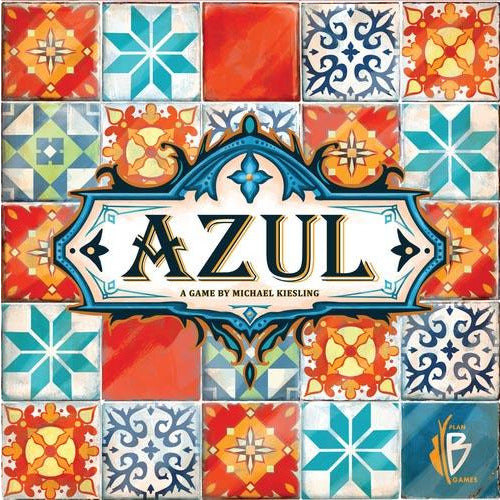 "Azul, Board Game, Age_8-10 years, Category_Abstract, Category_Family, Category_Strategy, Mechanic_Drafting, Mechanic_Pattern Building, Mechanic_Set Collection, Mechanic_Tile Placement, Michael Kiesling, ""board games"", ""Hobby Games"", Hobby Games"