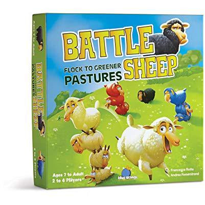 "Battle Sheep, Board Game, Age_5-7 years, Blue Orange, Category_Abstract, Category_Family, Francesco Rotta, Mechanic_Area Enclosure, Mechanic_Modular Board, ""board games"", ""Hobby Games"", Hobby Games"