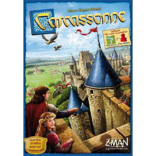 "Carcassonne 2nd Edition, Board Game, Age_5-7 years, Carcassonne, Category_Family, Klaus-Jürgen Wrede, Mechanic_Area Control, Mechanic_Tile Placement, ""board games"", ""Hobby Games"", Hobby Games"