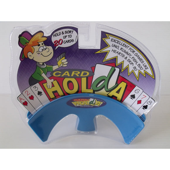 "Card Holda Junior (Card Holder) - Blue, Accessories, Age_10+, Age_3+, Age_4+, Age_5+, Age_6+, Age_7+, Age_8+, Age_9+, Age_Adult, Age_Teen, Card Holder, Category_Accessory, Category_Childrens, ""board games"", ""Hobby Games"""
