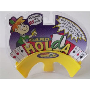 "Card Holda Junior (Card Holder) - Yellow, Accessories, Age_10+, Age_3+, Age_4+, Age_5+, Age_6+, Age_7+, Age_8+, Age_9+, Age_Adult, Age_Teen, Card Holder, Category_Accessory, Category_Childrens, ""board games"", ""Hobby Games"""