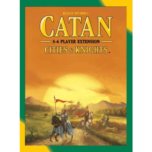 "Catan Cities & Knights 5-6 player Extension - 5th Edition, Board Game, Age_8-10 years, Category_Expansion, Category_Family, Klaus Teubler, Mechanic_Dice Rolling, Mechanic_Hand Management, Mechanic_Modular Board, Mechanic_Route Building, Mechanic_Trading, ""board games"", ""Hobby Games"", Hobby Games"
