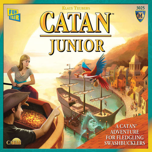 "Catan Junior, Board Game, Age_5-7 years, Catan, Category_Childrens, Category_Family, Klaus Teubler, Mechanic_Dice Rolling, Mechanic_Hand Management, Mechanic_Modular Board, Mechanic_Route Building, Mechanic_Trading, ""board games"", ""Hobby Games"""