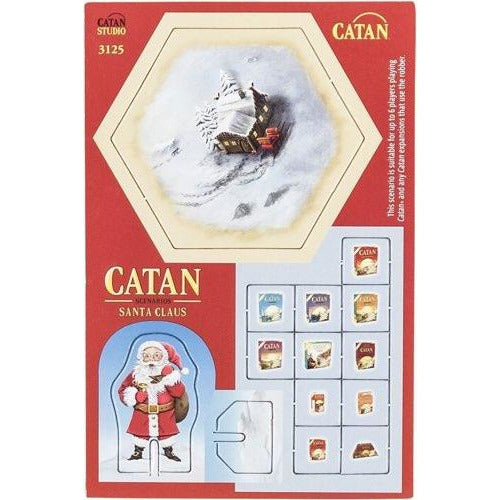 "Catan - Santa Claus, Board Game, Age_8-10 years, Catan, Category_Expansion, Category_Family, Klaus Teubler, Mechanic_Dice Rolling, Mechanic_Hand Management, Mechanic_Modular Board, Mechanic_Route Building, Mechanic_Trading, ""board games"", ""Hobby Games"", Hobby Games"