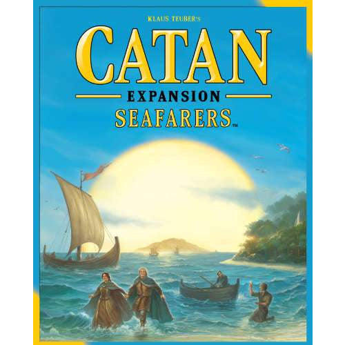 "Catan Seafarers - 5th Edition, Board Game, Age_8-10 years, Catan, Category_Expansion, Category_Family, Klaus Teubler, Mechanic_Dice Rolling, Mechanic_Hand Management, Mechanic_Modular Board, Mechanic_Route Building, Mechanic_Trading, ""board games"", ""Hobby Games"", Hobby Games"