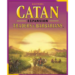 "Catan Traders & Barbarians - 5th Edition, Board Game, Age_10+, Age_Adult, Age_Teen, Catan, Category_Expansion, Category_Family, Klaus Teubler, Mechanic_Dice Rolling, Mechanic_Hand Management, Mechanic_Modular Board, Mechanic_Route Building, Mechanic_Trading, ""board games"", ""Hobby Games"""