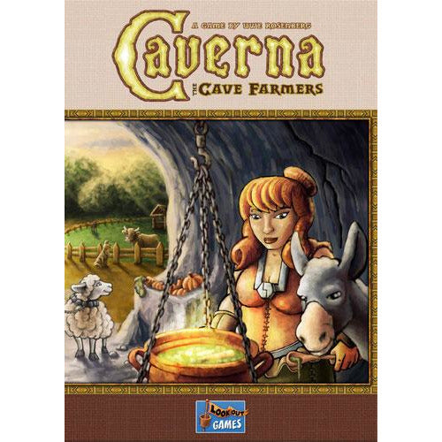 "Caverna: The Cave Farmers, Board Game, Age_Adult, Age_Teen, Animals, Category_Solo, Category_Strategy, Mechanic_Tile Placement, Mechanic_Worker Placement, Uwe Rosenberg, ""board games"", ""Hobby Games"""