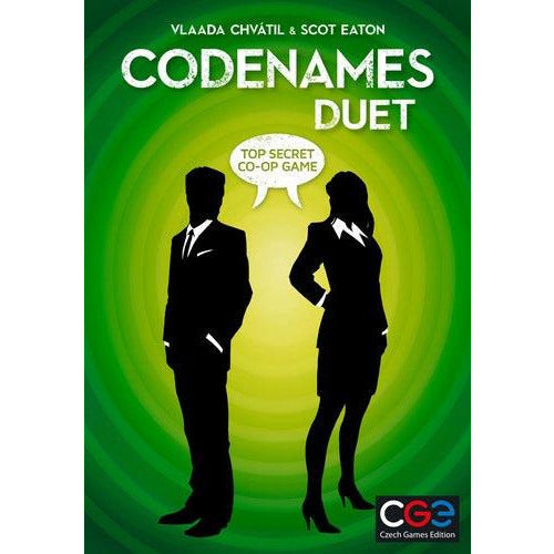 "Codenames Duet, Board Game, Age_Teens, Category_2 Player, Category_Cooperative, Codenames, Mechanic_Deduction, Mechanic_Memory, Mechanic_Press Your Luck, Vlaada Chvátil, ""board games"", ""Hobby Games"", Hobby Games"