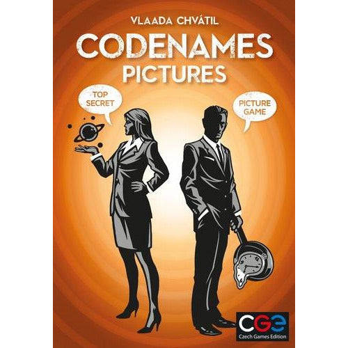 "Codenames Pictures, Board Game, Age_10+, Age_Adult, Age_Teen, Category_Party, Codenames, Czech Games, Mechanic_Deduction, Mechanic_Memory, Mechanic_Press Your Luck, Mechanic_Team Play, Vlaada Chvátil, ""board games"", ""Hobby Games"""