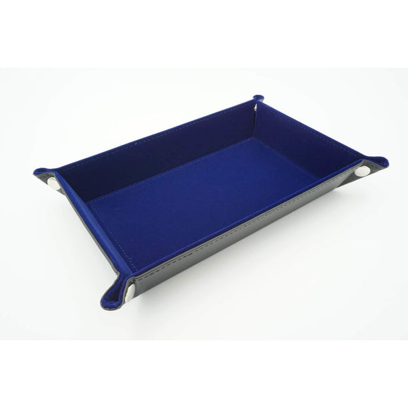 "Rectangular Dice Tray - Blue, Accessories, Category_Accessory, Category_Case, Category_Dice Tray, ""board games"", ""Hobby Games"""