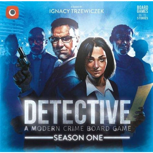 "Detective: A Modern Crime Board Game – Season One, Board Game, Age_Adults, Category_Cooperative, Category_Solo, Category_Thematic, Ignacy Trzewiczek, Jakub Łapot, Mechanic_Cooperative, Mechanic_Deduction, Mechanic_Story Telling, Przemysław Rymer, ""board games"", ""Hobby Games"", Hobby Games"