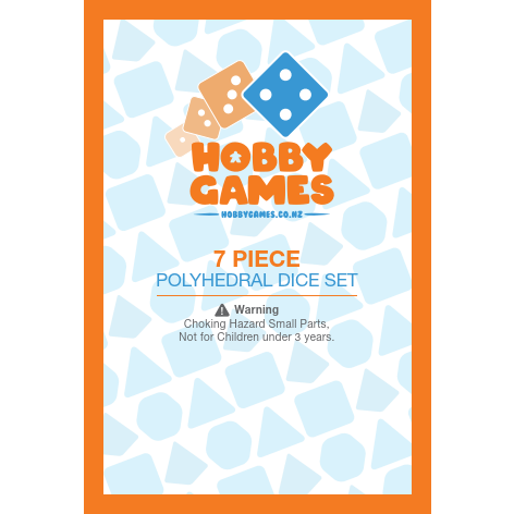 "The Deep - Polyhedral Dice Set, Dice, D&D, Dice Category_Polyhedral Dice Set, Role Playing Game, ""board games"", ""Hobby Games"", Hobby Games"