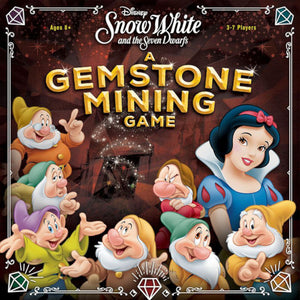 "Disney Snow White and the Seven Dwarfs Gemstone Miners, Board Game, Age_10+, Age_8+, Age_9+, Age_Adult, Age_Teen, Andrew Wolf, Category_Family, Mechanic_Bidding, Mechanic_Drafting, Mechanic_Press Your Luck, Mechanic_Take That, Scott Morris, Sérgio Halaban, USAopoly, ""board games"", ""Hobby Games"""