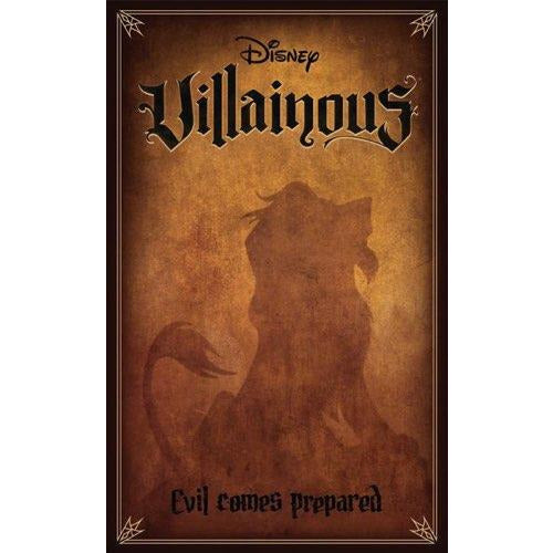 "Disney Villainous: Evil Comes Prepared, Board Game, Age_8-10 years, Category_Family, Category_Stand Alone Expansion, Disney, Mechanic_Hand Management, Mechanic_Take That, Mechanic_Variable Player Powers, Prospero Hall, Ravensburger, ""board games"", ""Hobby Games"", Hobby Games"