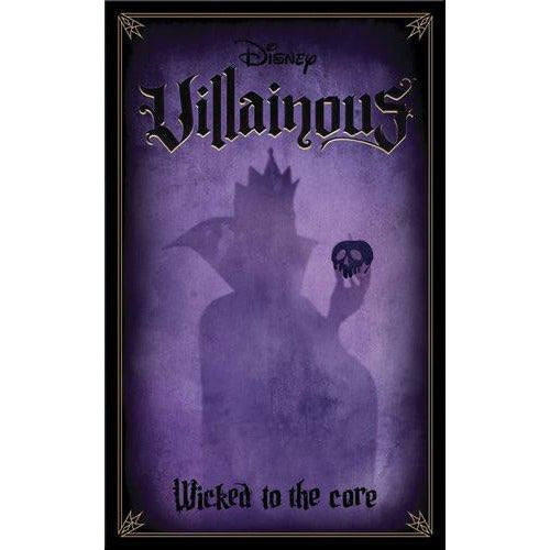 "Disney Villainous: Wicked to the Core, Board Game, Age_8-10 years, Category_Family, Category_Stand Alone Expansion, Disney, Mechanic_Hand Management, Mechanic_Take That, Mechanic_Variable Player Powers, Prospero Hall, Ravensburger, ""board games"", ""Hobby Games"", Hobby Games"