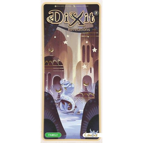 "Dixit Revelations, Board Game, Age_8-10 years, Asmodee, Category_Expansion, Category_Party, Jean-Louis Roubira, Mechanic_Story Telling, ""board games"", ""Hobby Games"", Hobby Games"