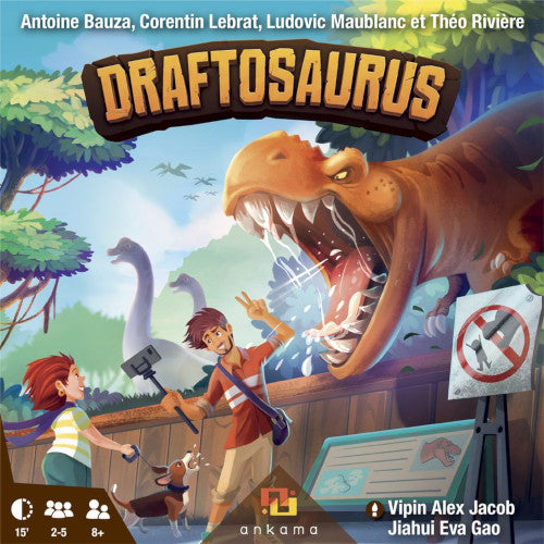 "Draftosaurus, Board Game, Age_8-10 years, Category_Family, Mechanic_Dice Rolling, Mechanic_Drafting, Mechanic_Real Time, Mechanic_Set Collection, ""board games"", ""Hobby Games"", Hobby Games"