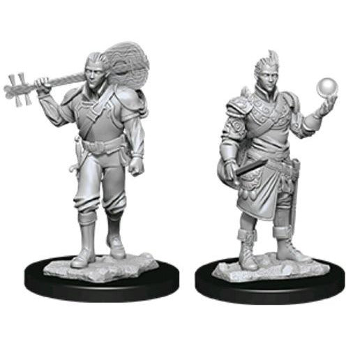 "Dungeons & Dragons Nolzurs Marvelous Half-Elf Bard Male, Minatures, Category_Accessory, Category_Dungeons & Dragons, Category_Miniatures, Category_Role Playing, Wizards of the Coast, WizKids, ""board games"", ""Hobby Games"", Hobby Games"