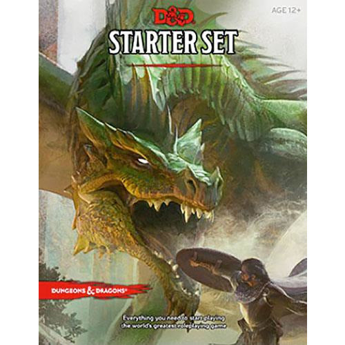"Dungeons & Dragons Starter Set, Role Playing Game, Category_Dungeons & Dragons, Category_Role Playing, Role Playing Game, ""board games"", ""Hobby Games"", Hobby Games"