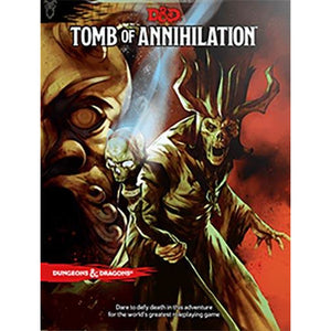 "Dungeons & Dragons 5th Edition: Tomb of Annihilation, Role Playing Game, Age_10+, Age_Adult, Age_Teen, Category_Dungeons & Dragons, Category_Role Playing, Role Playing Game, ""board games"", ""Hobby Games"""