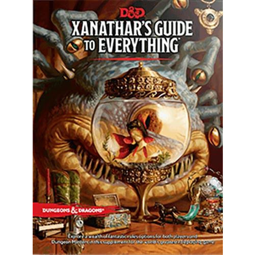 "Dungeons & Dragons 5th Edition: Xanathars Guide to Everything, Role Playing Game, Age_10+, Age_Adult, Age_Teen, Category_Dungeons & Dragons, Category_Role Playing, Role Playing Game, ""board games"", ""Hobby Games"""