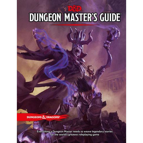 "Dungeons & Dragons 5th Edition: Dungeon Masters Guide, Role Playing Game, Category_Dungeons & Dragons, Category_Role Playing, Role Playing Game, ""board games"", ""Hobby Games"", Hobby Games"