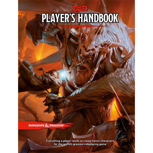 "Dungeons & Dragons 5th Edition: Players Handbook, Role Playing Game, Category_Dungeons & Dragons, Category_Role Playing, Role Playing Game, ""board games"", ""Hobby Games"", Hobby Games"