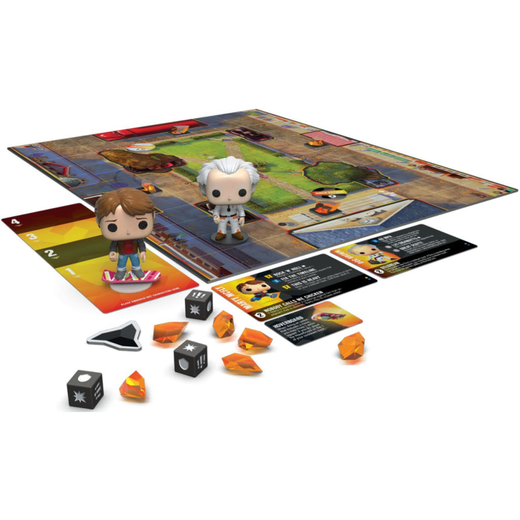 "Funkoverse Strategy Game: Back to the Future 100 (2-Pack), Board Game, Back to the Future, Category_Family, Category_Pop Culture, Category_Strategy, Mechanic_Action Points, Mechanic_Dice Rolling, Mechanic_Variable Player Powers, Prospero Hall, ""board games"", ""Hobby Games"", Hobby Games"