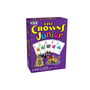 "Five Crowns Junior, Card Game, Age_10+, Age_5+, Age_6+, Age_7+, Age_8+, Age_9+, Age_Adult, Age_Teen, Category_Childrens, Category_Family, Mechanic_Hand Management, Mechanic_Pattern Building, SET, ""board games"", ""Hobby Games"""