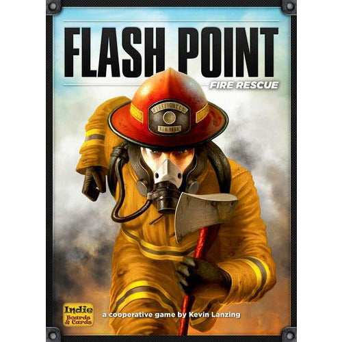 "Flash Point Fire Rescue, Board Game, Age_8-10 years, Category_Family, Category_Solo, Category_Thematic, George Patsouras, Kevin Lanzing, Luis Francisco, Mechanic_Action Points, Mechanic_Cooperative, Mechanic_Dice Rolling, Mechanic_Pick-up and Deliver, Mechanic_Variable Player Powers, ""board games"", ""Hobby Games"", Hobby Games"