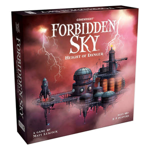 "Forbidden Sky, Board Game, Age_10+, Age_Adult, Age_Teen, Category_Cooperative, Category_Family, Category_Strategy, Gamewright, Matt Leacock, Mechanic_Cooperative, Mechanic_Modular Board, Mechanic_Tile Placement, Mechanic_Variable Player Powers, ""board games"", ""Hobby Games"""