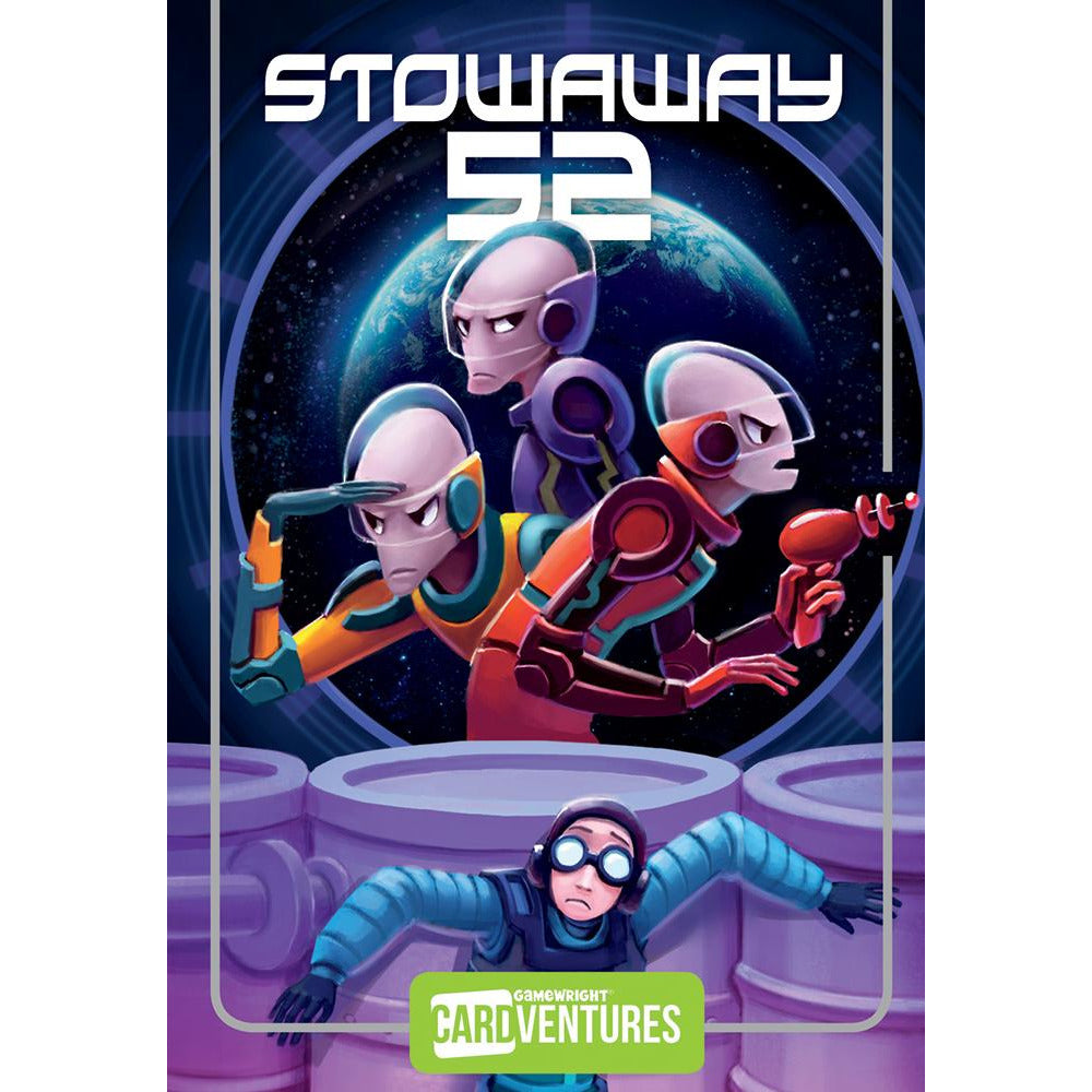 "Stowaway 52, Card Game, Age_8-10 years, Category_Family, Category_Solo, Floyd Pretz, Gamewright, Mechanic_Pattern Recognition, Mechanic_Story Telling, ""board games"", ""Hobby Games"", Hobby Games"
