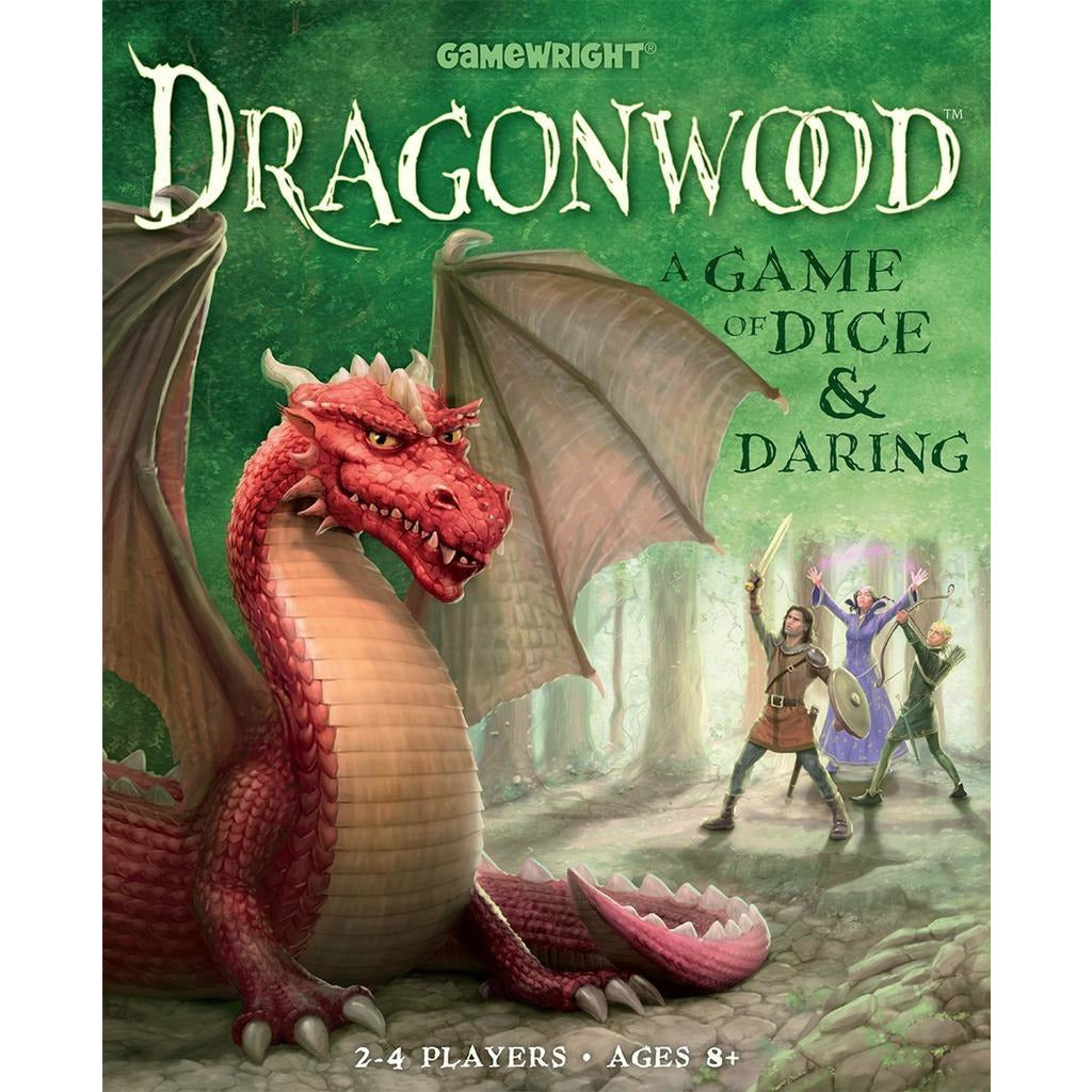 "Dragonwood, Board Game, Age_8-10 years, Category_Family, Chris Beatrice, Darren Kisgen, Gamewright, Mechanic_Dice Rolling, Mechanic_Hand Management, Mechanic_Set Collection, ""board games"", ""Hobby Games"", Hobby Games"