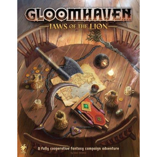 "Gloomhaven: Jaws of the Lion, Board Game, Age_Teens, Category_Role Playing, Category_Strategy, Category_Thematic, Isaac Childres, Mechanic_Campaign, Mechanic_Cooperative, Mechanic_Hand Management, Mechanic_Legacy, Mechanic_Modular Board, Mechanic_Story Telling, ""board games"", ""Hobby Games"", Hobby Games"