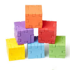 "Happy Cube - Original foam puzzle, Board Game, Age_10+, Age_5+, Age_6+, Age_7+, Age_8+, Age_9+, Age_Adult, Age_Teen, Category_Solo, Mechanic_Dexterity, Mechanic_Logic Puzzle, ""board games"", ""Hobby Games"""