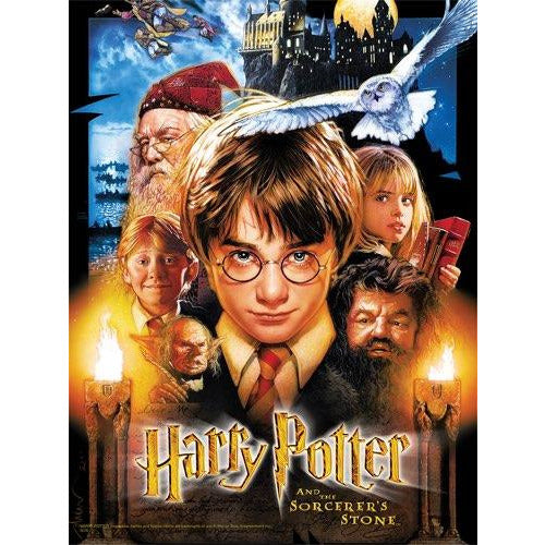 "Harry Potter and the Sorcerers Stone Puzzle - 550 pieces, Puzzle, Brand_USAopoly, Category_Puzzle, Collection_Pop Culture, Harry Potter, Pieces_500, ""board games"", ""Hobby Games"", Hobby Games"