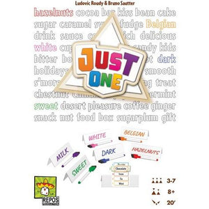 "Just One, Board Game, Age_10+, Age_8+, Age_9+, Age_Adult, Age_Teen, Category_Party, Mechanic_Cooperative, ""board games"", ""Hobby Games"""