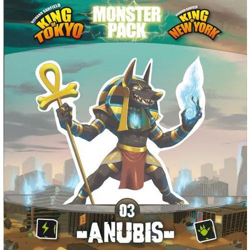 "King of Tokyo: Anubis, Board Game, Age_10+, Age_8+, Age_9+, Age_Adult, Age_Teen, Category_Expansion, Category_Family, iello, King of Tokyo, Mechanic_Area Control, Mechanic_Dice Rolling, Mechanic_Drafting, Mechanic_Player Elimination, Mechanic_Press Your Luck, Richard Garfield, ""board games"", ""Hobby Games"""